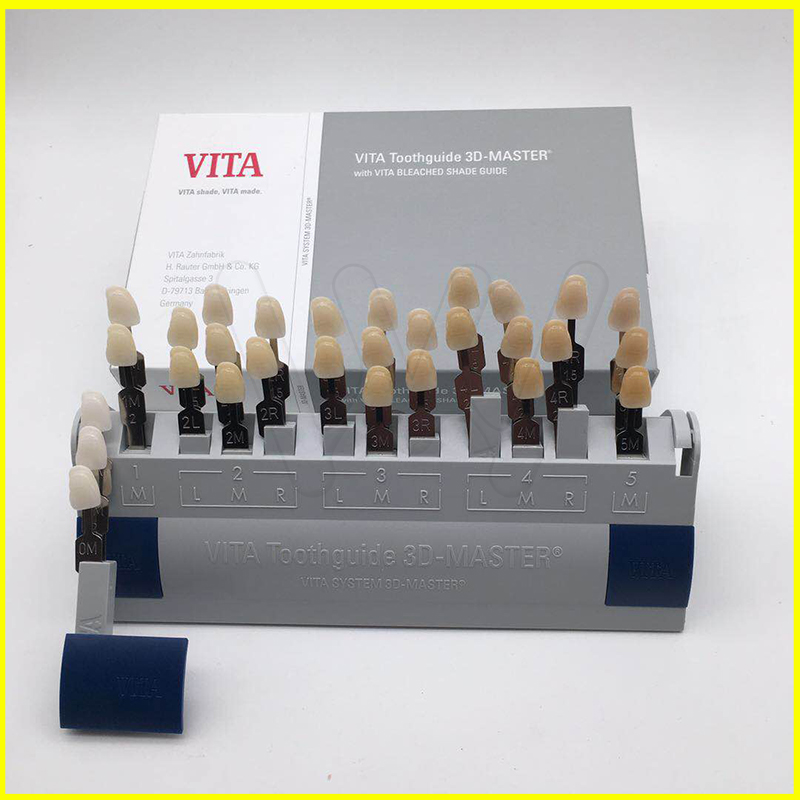 Guide de protection des dents 3D 29 couleurs avec abat-jour en porcelaine blanchie pour les traitements de blanchiment des dents livraison gratuite