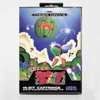 Super Fantasy Zone 16 bit md-karte mit kleinkasten für Sega Megadrive videospielkonsolensystem