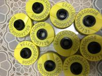 READELL 134.2khz ISO11784 ISO11785 rfid ear tag for animal cattle sheep pig management 100pcs/lot