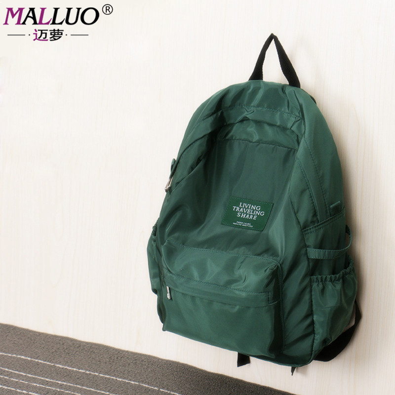 MALLUO Fashion Women Backpack For teenagers Girls 2017 Backpacks Black Backpacks Female boys Bags Ladies Backpack high quality