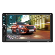 Universal 2 Din Car Multimedia Player Autoradio Stereo 7 Inch Press Screen Video Mp5 Player Auto Radio Bluetooth Tf Usb Fm,X6 podofo 2 din car radio gps navigation 7 inch hd touch screen bluetooth autoradio multimedia mp5 player video stereo radio 7018g