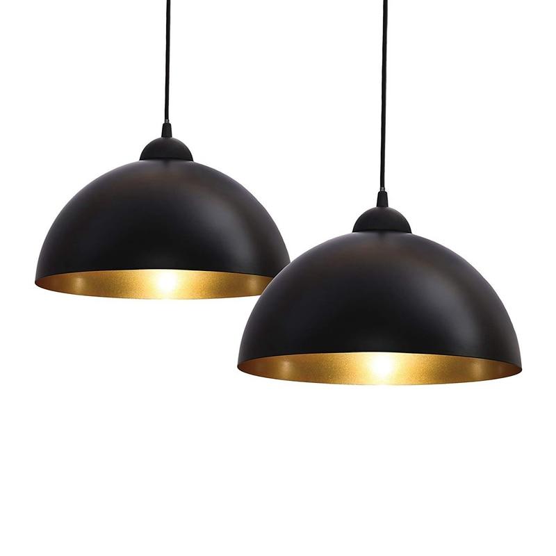 Lukloy Modern Pendant Light Black And