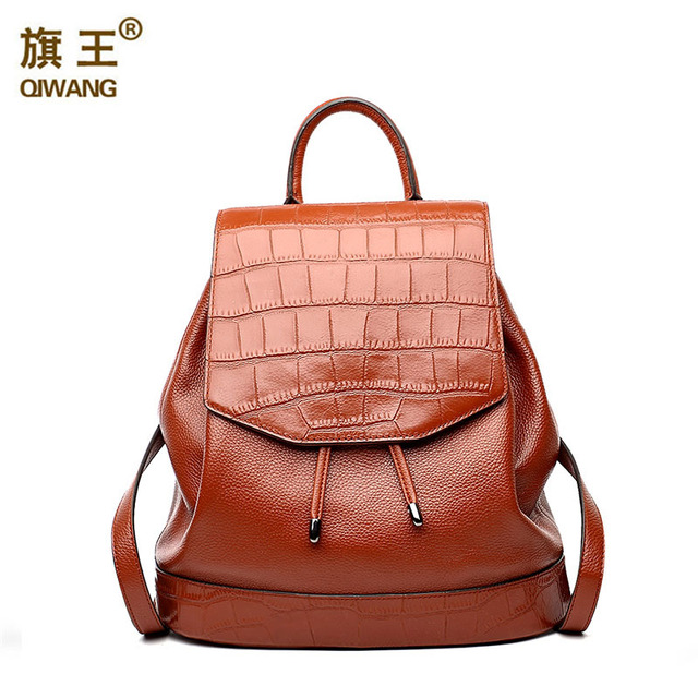 Great Quality Leather Backpacks Real Leather Laptop Backpack For ...