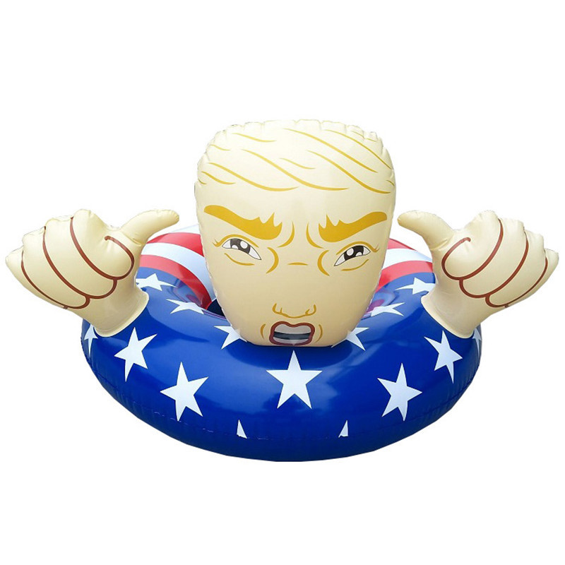 Image 5 - Trump Pool Float Inflatable Swimming Ring Donald Trump  Swimming Pool Floats-in Furniture Accessories from Furniture
