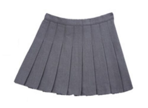 S-2XL Harri Potter Hermione Granger Short Pleated Wool Skirt Dress Gryffindor Costume