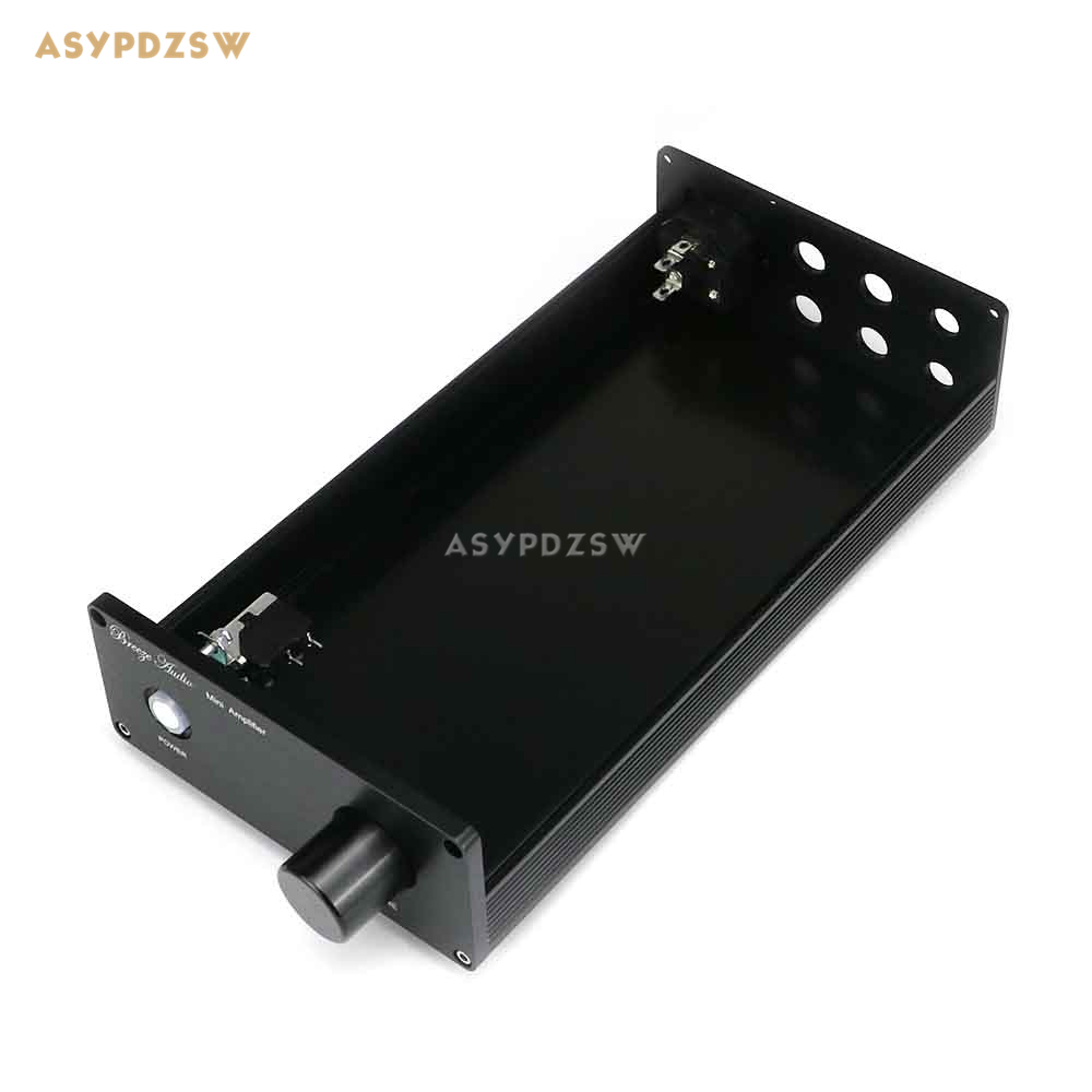 1306A Black Full aluminum Power amplifier chassis MINI Amplifier case/box/enclosure кукла asi хлоя 45 см asi