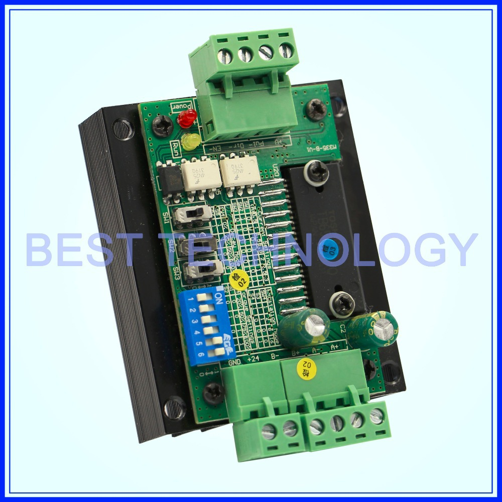 TB6560 stepper motor driver board ! single axis driver cnc controller for engraving machine!!! free shipping high quality 4 axis tb6560 cnc stepper motor driver controller board 12 36v 1 5 3a mach3 cnc 12