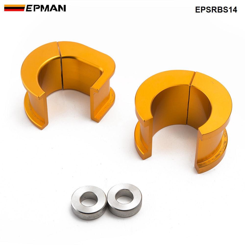Bagues de support de direction décalées en Aluminium Epman Racing pour Nissan Silvia S14 S15 200SX EPSRBS14