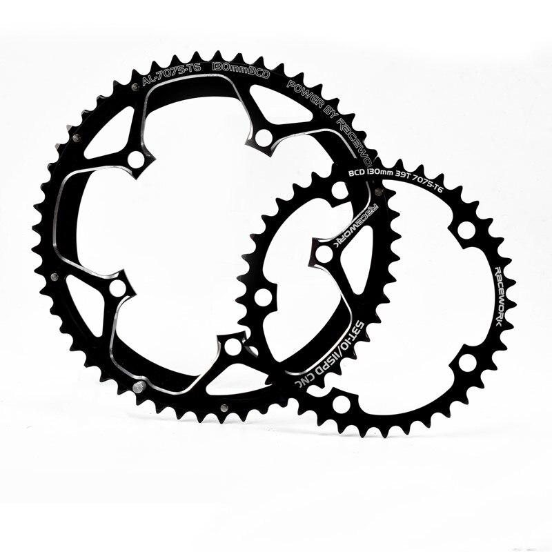TANKE route vélo plateau aluminium CNC 35-50 T pliable vélo pédalier