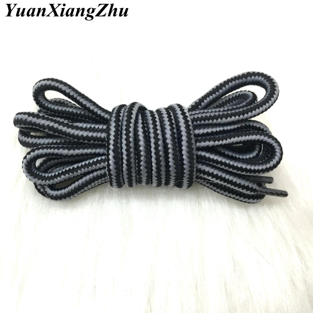 Hot outdoor sport casual multicolor round shoelaces hiking slip rope shoe laces sneakers ...