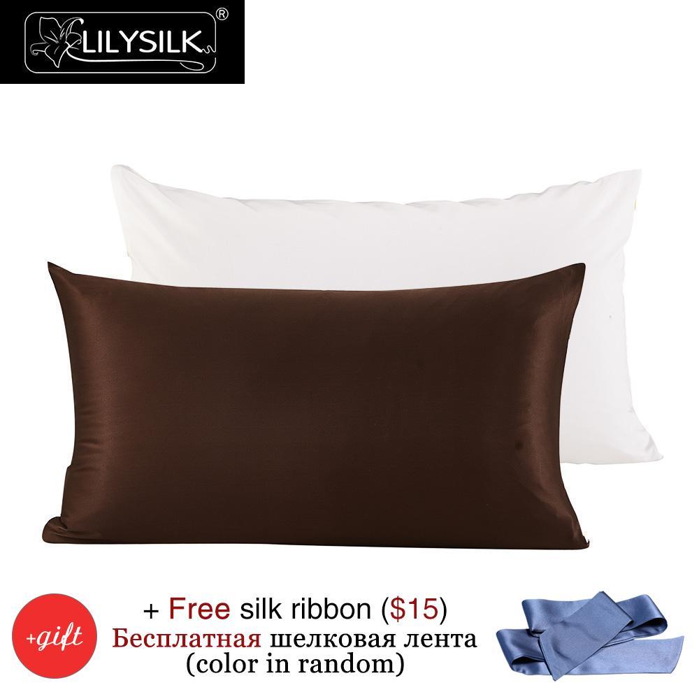 Aliexpress Com Buy Lilysilk Silk Cotton Pillowcase 22
