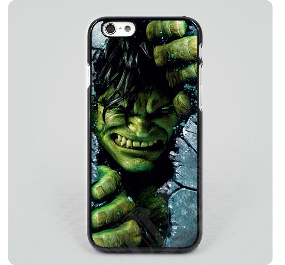 incredible hulk cover cases for iPhone 4 5s SE 5c 6s plus iPod touch 4 5 6 Samsung s2 s3 s4 s5 mini s6 s7 edge plus note 2 3 4 5
