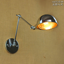Two Swing Arm Vintage Lamp America Simple Industrial Lamps Lamparas De Pared Retro Wall Sconce Luminaire Lustre Wall Lights