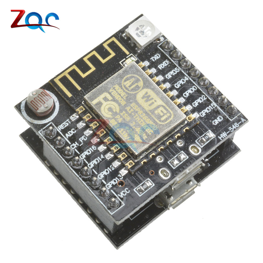 ESP8266 serial WIFI Witty cloud Development Board ESP-12F module MINI nodemcu For Arduino