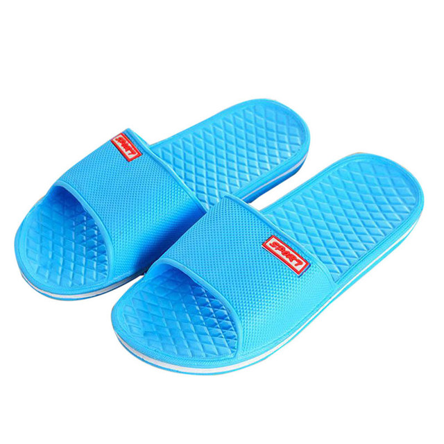 df567fdb6edf Women Home Slippers Summer Flip Flops femmes Flat Bath Slippers shoes woman  Massage Beach Slippers zapatos