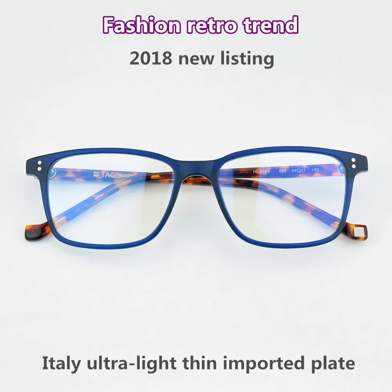 9f1e644a63d 2018 TAG Hezekiah Brand glasses frame women Big box fashion retro ...