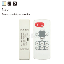New DC5-24V single color/CCT/RGB/RGBW wireless RF remote controller Nano for led strip light