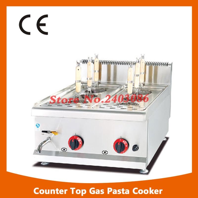 commercial 6- Basket gas counter top pasta cooker/pasta cooking machine набор для кухни pasta grande 1126804