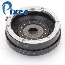 内蔵絞り制御レンズ用pixcoキヤノンefレンズに適合させるため富士フイルムxカメラ