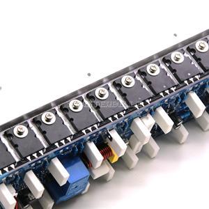 Image 5 - Zmontowana płyta wzmacniacza mocy 1200W Mono tablica wzmacniacza Audio HiFi z radiatorem