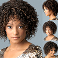 Afro Kinky Curly wig synthetic short Natural  wig Long ynthetic wig Afro Wig Long Kinky Curly