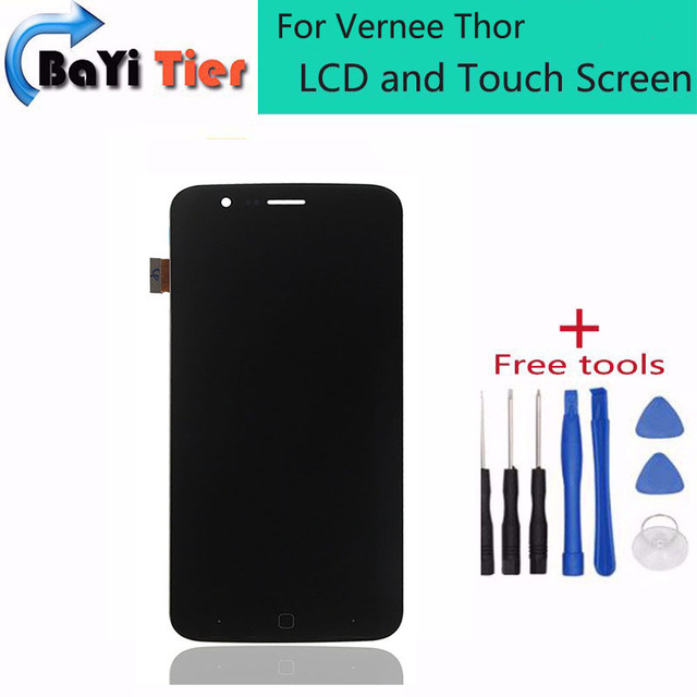 Для Vernee Тор ЖК-Дисплей и Сенсорный Экран Ассамблея Ремонт часть 5.0 дюймов Мобильный Для Vernee Тор LCD + Бесплатные инструменты + Бесплатно доставка