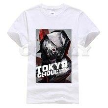 2019 new T-shirt Round neck  Tokyo Ghoul Cool Japan Anime Cartoon Fashion Summer dress men tee Cotton Funny t shirt custom made