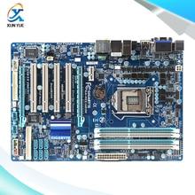 Gigabyte GA-H55-UD3H Original Used Desktop Материнских Плат H55-UD3H H55 LGA 1156 DDR3 i3 i5 i7 16 Г ATX