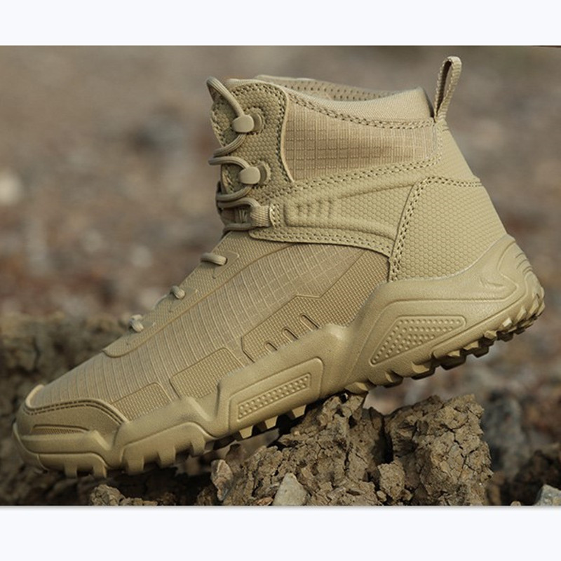 Oudoor Hiking Shoes Men Waterproof Non slip Wear Resistant Camping Hunting Climbing Army Fans Training Tactical