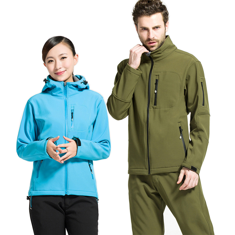 Lovers Summer Fall Outdoor Hiking Camping Quick-Dry Trench Coat Men Women Army Tactical Hunting Jacket And Sports Pants Female