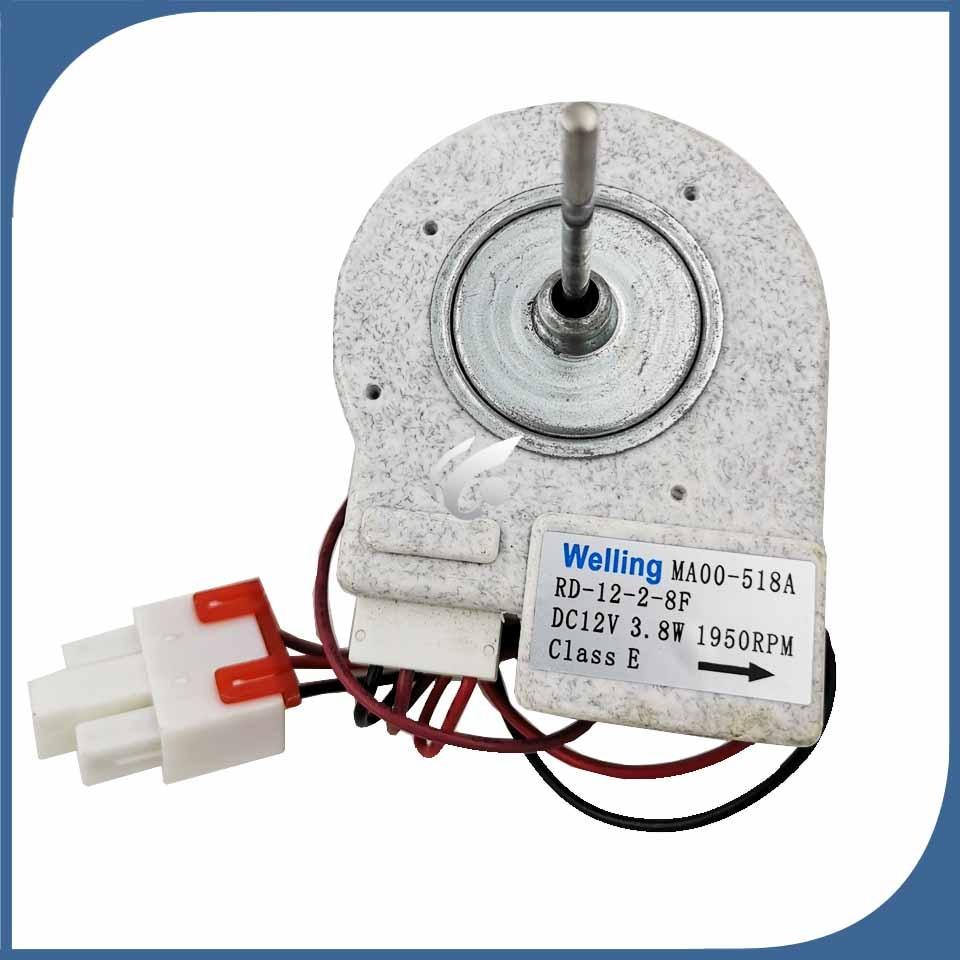 new for refrigerator ventilation fan motor MA00 518A RD 12 2 8F reverse rotary motor