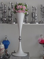 69cm 27inch 10pcs/lot Wedding Road Lead Flower Shelf Table Stand for Wedding Centerpiece Decoration flower vase road lead column