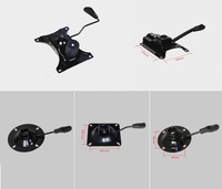 Office Chair Part Seat Plate Bottom Base Replacement Control Tilt Lever
