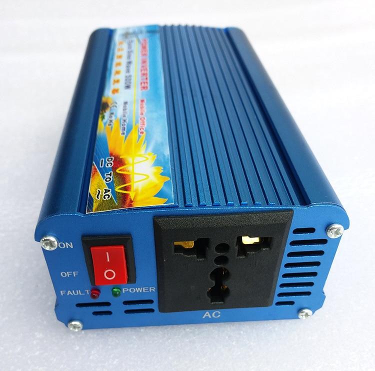 цена на Surge Power 1000W 500W pure sine wave power inverter 12V DC TO 220V AC
