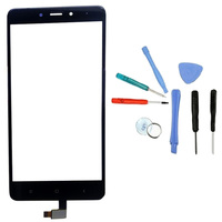 LINGWUZHE Touch Panel Digitizer Sensor Lens Glass Replacement For Xiaomi Hongmi Redmi Note 4 5 5