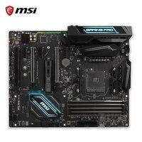 X370 MSI X370 GAMING PRO de CARBONO Original Nueva Placa Base de Escritorio Socket AM4 DDR4 64G USB3.1 ATX