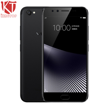 KT New VIVO X9s Mobile Phone 5.5 inch 4GB RAM 64G ROM Snapdragon 652 Octa Core Dual Front Camera 3320mAh Fingerprint CellPhone