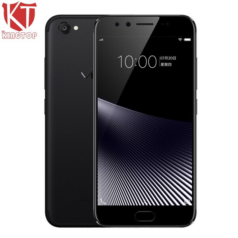 KT New VIVO X9s Mobile Phone 5.5 inch 4GB RAM 64G ROM Snapdragon 652 Octa Core Dual Front Camera 3320mAh Fingerprint CellPhone