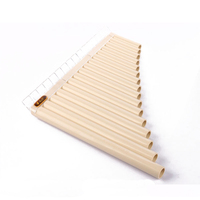 Fenglv 16 Pipes Pan Flute Easy Learning Panflute Children Music Instruments Christmas Gift Free Shipping