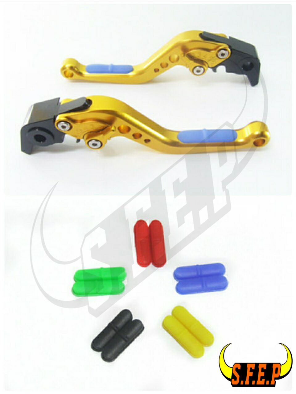 CNC Adjustable Motorcycle Brake and Clutch Levers with Anti-Slip For Honda CBF1000 2006-2009