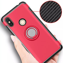 for xiaomi Redmi S2 Case RedmiS2 Hybrid Silicone PC Rugged Armor with Metal Finger Ring Holder Cover for Xiaomi redmi s2 s 2