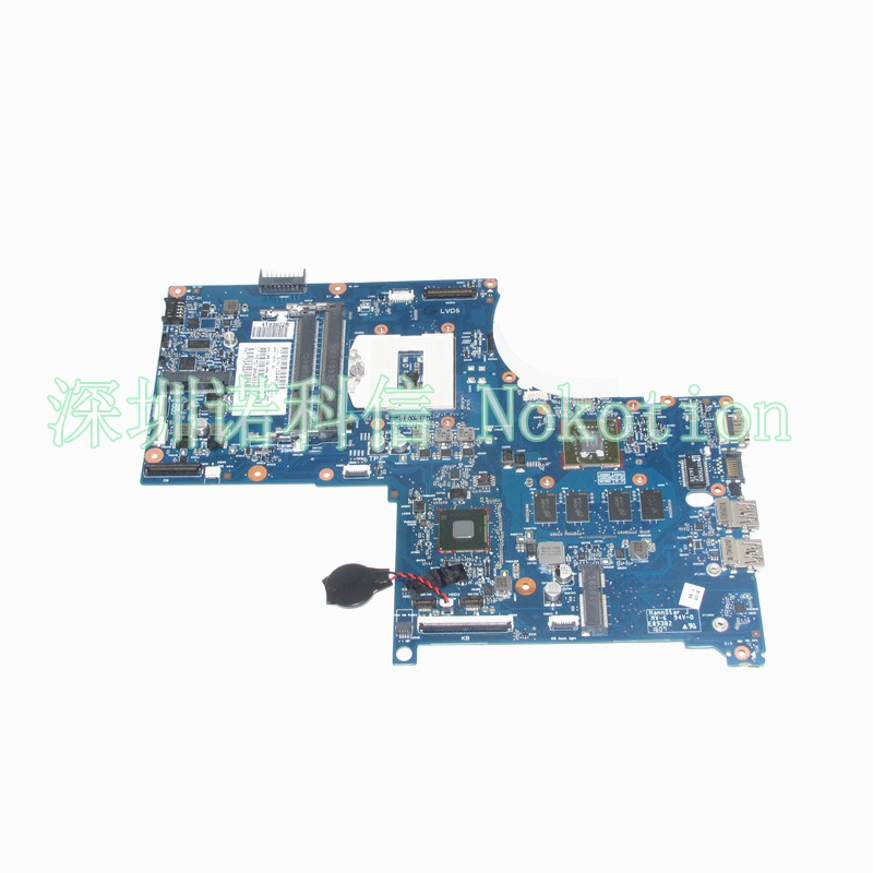 Original 773370-601 773370-001 Laptop Motherboard FOR HP ENVY 17-J01 17-J HM87 840M 2GB graphics memory Mainboard Full works for hp for envy 17 hm67 chipset hd6850 1gb graphics systemboard 660202 001