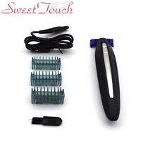Sweettouch USB Перезаряжаемые Для мужчин края бритва, нос триммер для волос триммер вибрисс бритья устройство тример Многофункциональный планки Deluxe (полный комплект)