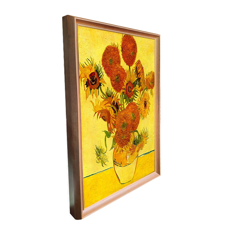 Image 3 - 43 inch wooden frame advertising kiosk lcd screen luxury display digital screen digital photo picture frame museum type-in Screens from Consumer Electronics