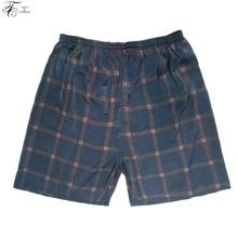 Tony&Candice Men's Pajama Pants Short In Summer Soft Cozy Men Sleep Bottoms One Size Men Sleep Pants 8 Print Colors Beach Pants