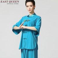 太極拳制服女性太極拳服中国伝統太地衣類2015新しいデザインブランド武太極拳摩耗AA859
