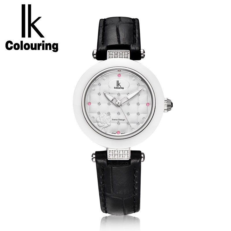 2018 IK Luxury Women's Brangle Crystal Girl Quartz Hardlex Watches Genuine Band Wristwatch Gift Original Box Free Ship grattol топ rubber top gel 9 мл