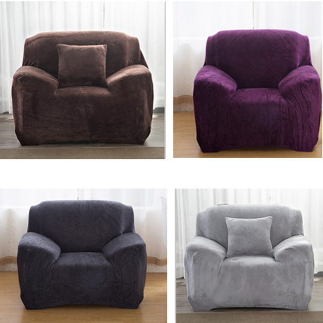 Elastic I Shaped Sofa Cover For Leather Sure Fit Sth Slipcover Couch