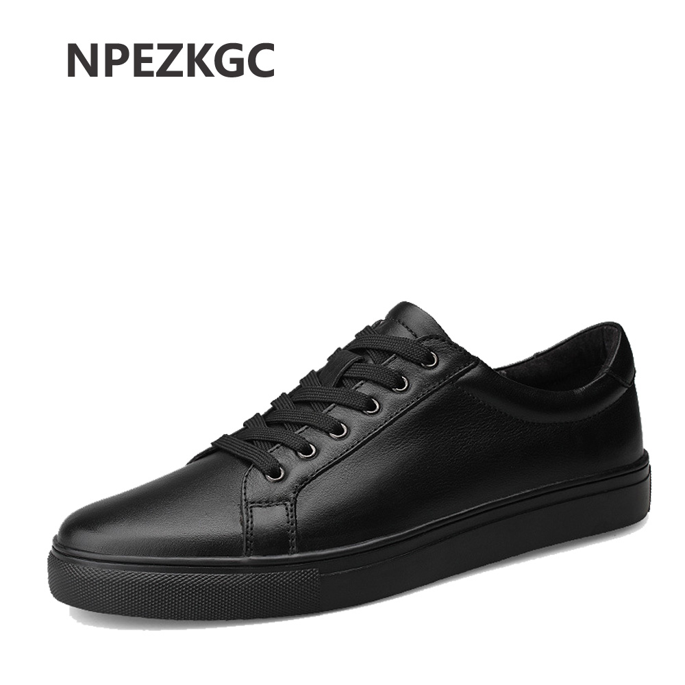 NPEZKGC Brand Size 38-48 Fashion Handmade Brand Genuine leather men Flats,Soft leather men Male Moccasins,High Quality Men Shoes cbjsho brand men shoes 2017 new genuine leather moccasins comfortable men loafers luxury men s flats men casual shoes