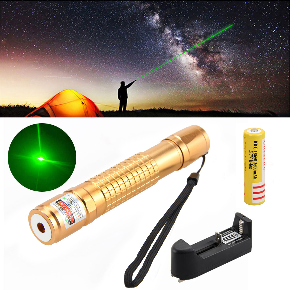 Military Adjustable Focus 532nm Burning 5mW Green Laser Pointer Pen 304 +18650 xeltek private seat tqfp64 ta050 b006 burning test